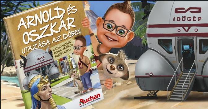 Auchan Arnold és Oszkár