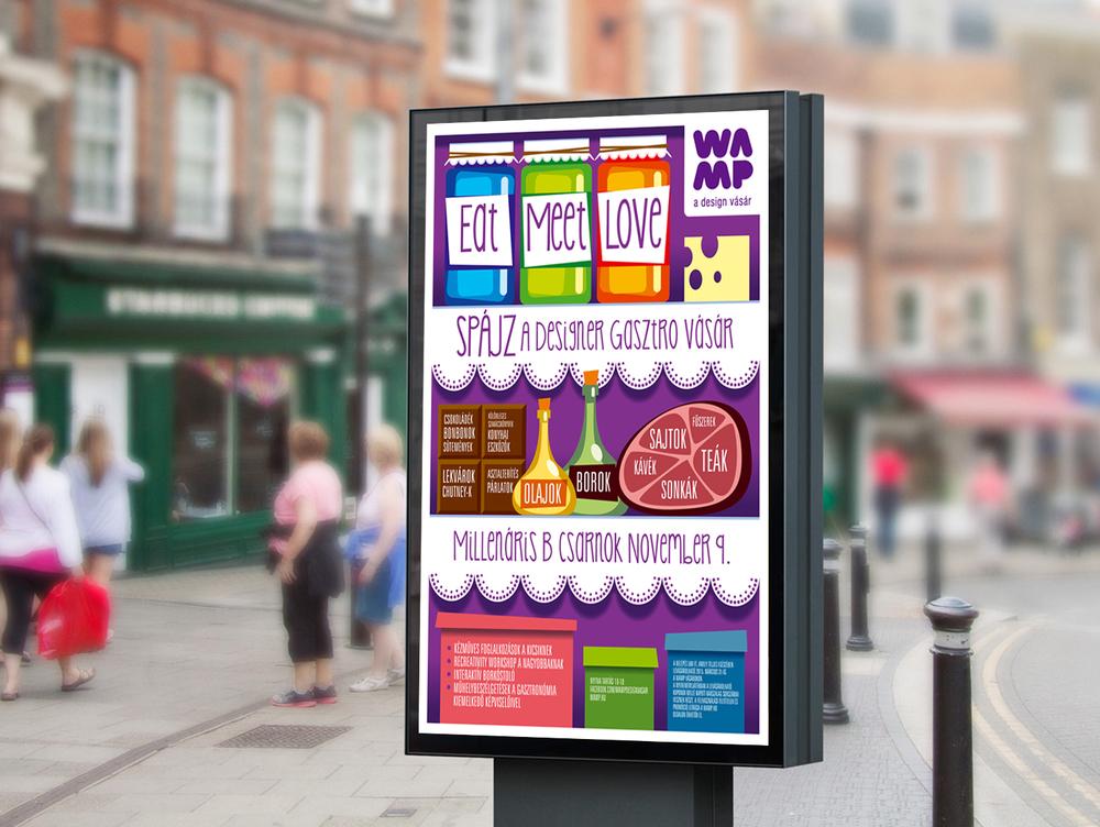 WAMP plakát és sajtó - Spájz