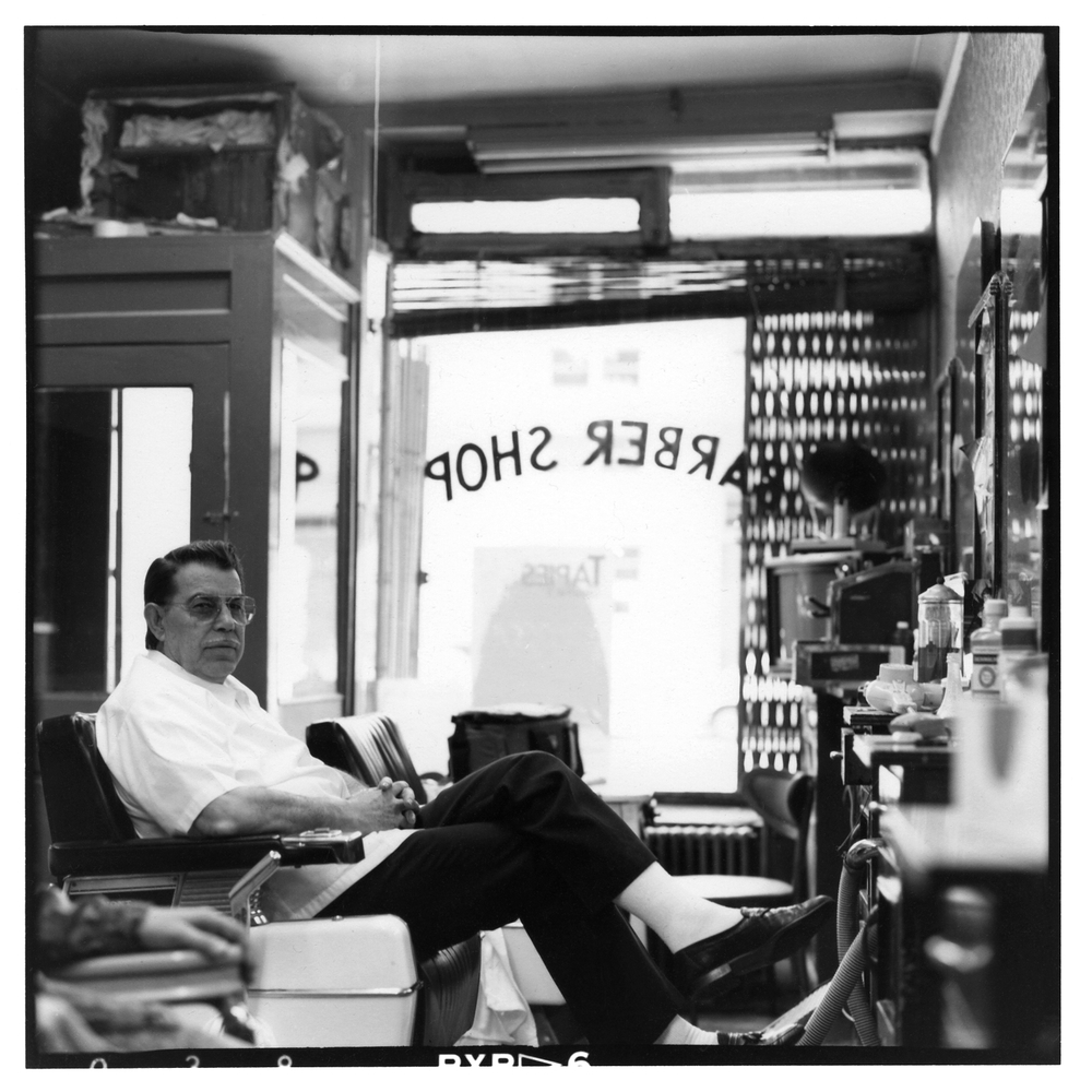 barber . east village . new york . 1988