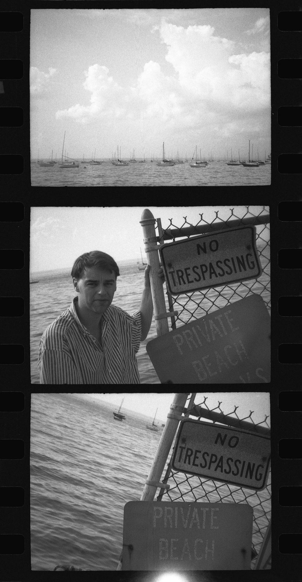 no trespassing . new york . 1990