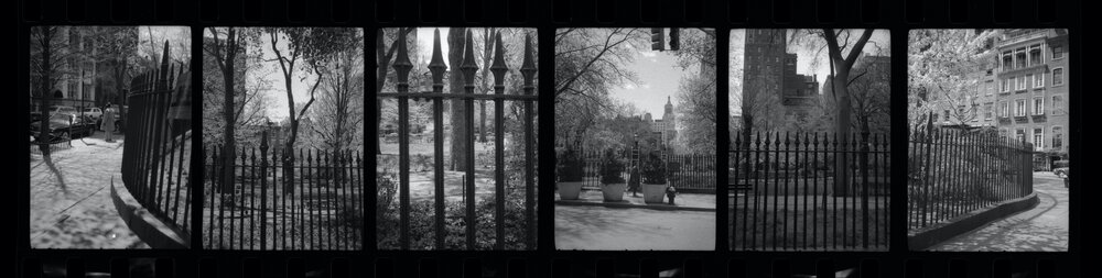 gramercy park . new york . 1988