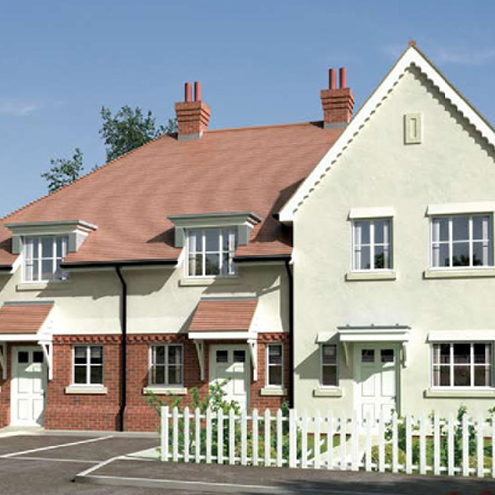 8 X 2 & 3 bed family dwellings in Crowborough, East Sussex