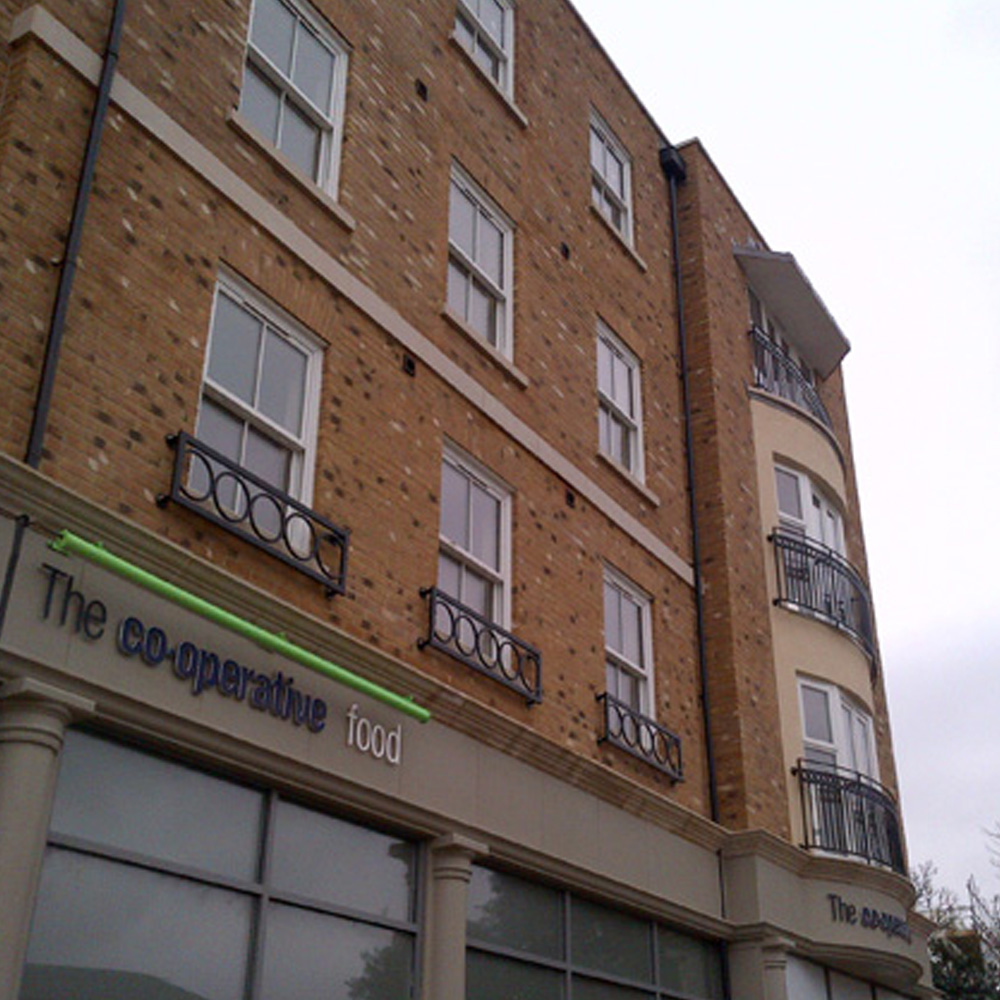 14 apartments and 2 retail units in Broadstairs, Kent