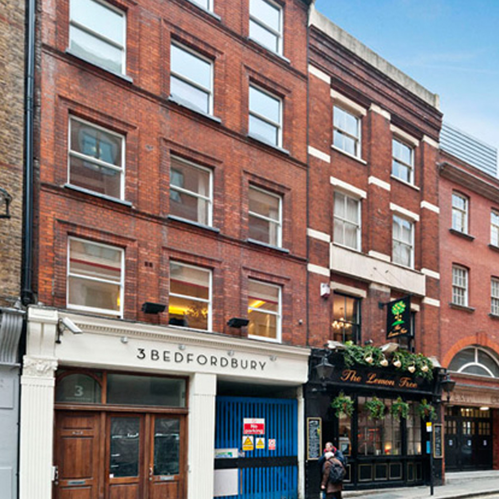 1 apartment and 1 retail premises in Covent Garden, London