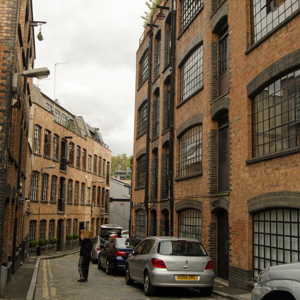Six storey block in East London