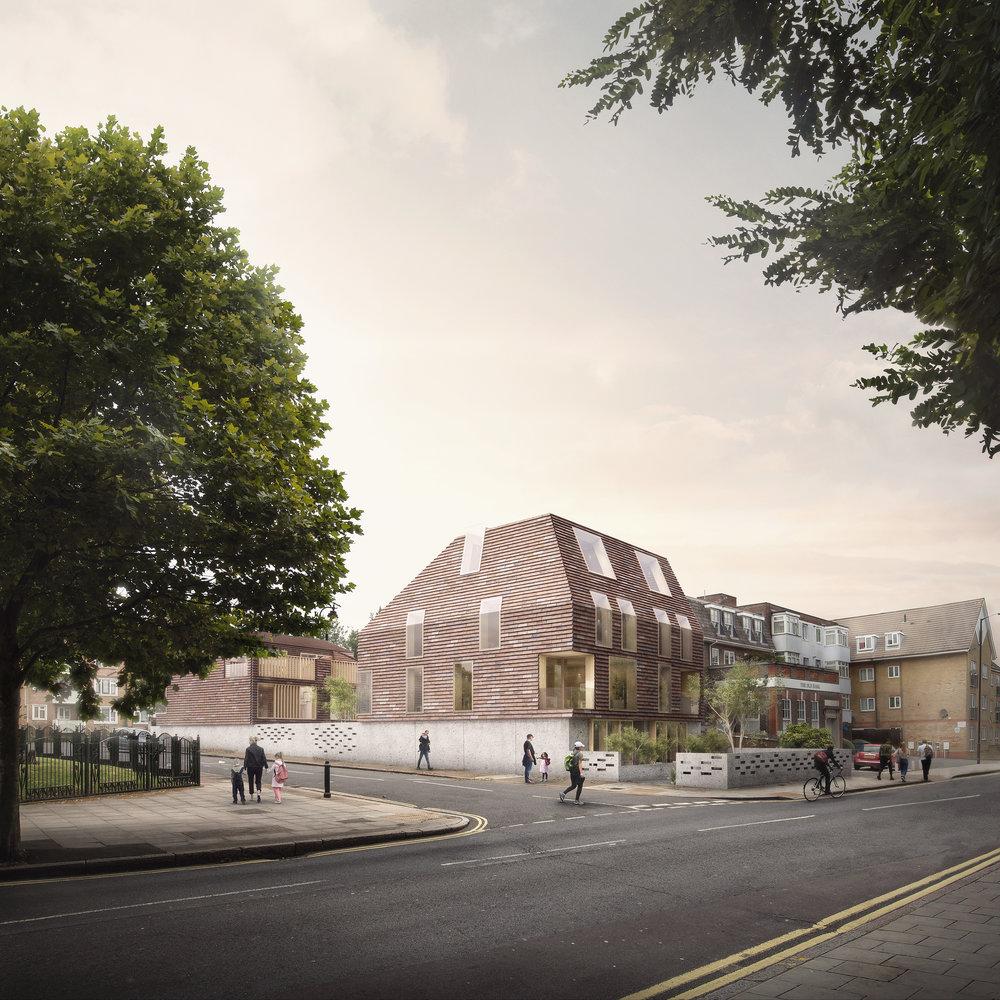 Residential Development near Peckham, South London