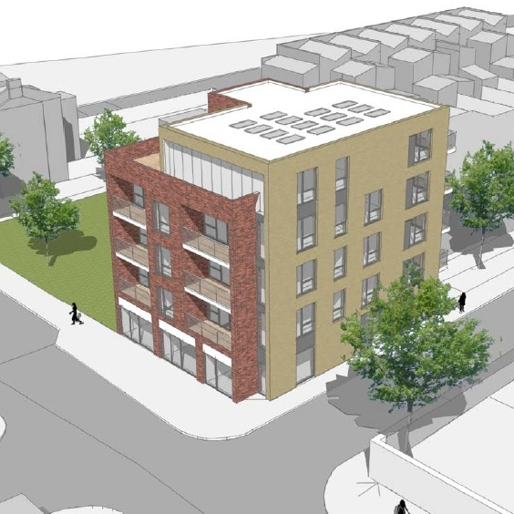 Mixed Use Development GDV:  £4,450,000  Loan:  £1,900,000