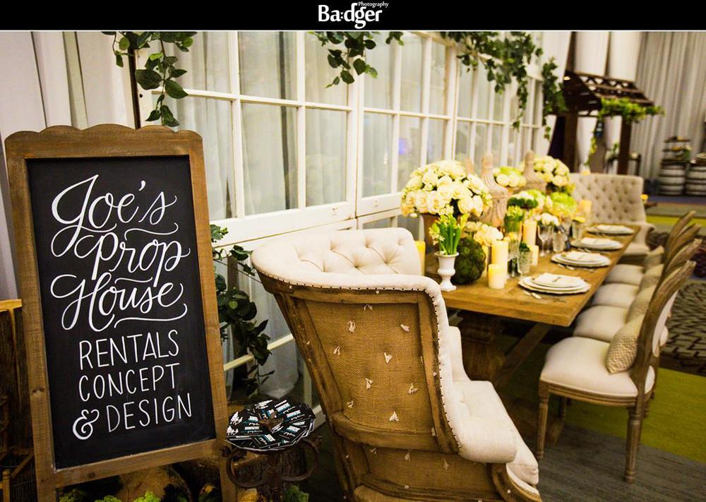 Badger Photography / Joe's Prop House