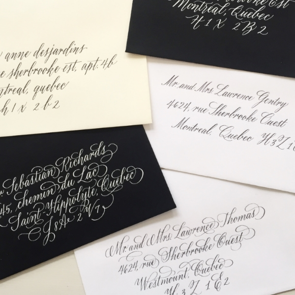 Joy offers a variety of script calligraphy styles, both traditional and modern.