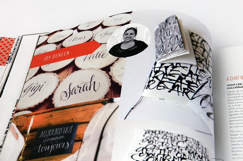Joy Deneen UPPERCASE magazine calligraphy.jpg