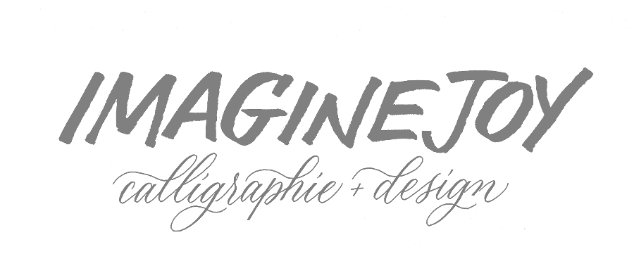 Atelier Imagine Joy | Calligraphie & Design