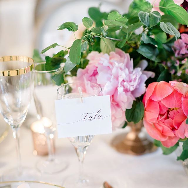 Memories of summer. 🌿🌷 . With @lisarenaultphotographie, @unikevent, @par.anais, @joesprophouse + @celebrationsgroup . . . #montrealcalligraphy #montrealcalligrapher #montrealwedding #montrealweddings #montrealevents #moderncalligraphy #weddinginspiration #weddingdetails #tablescapes