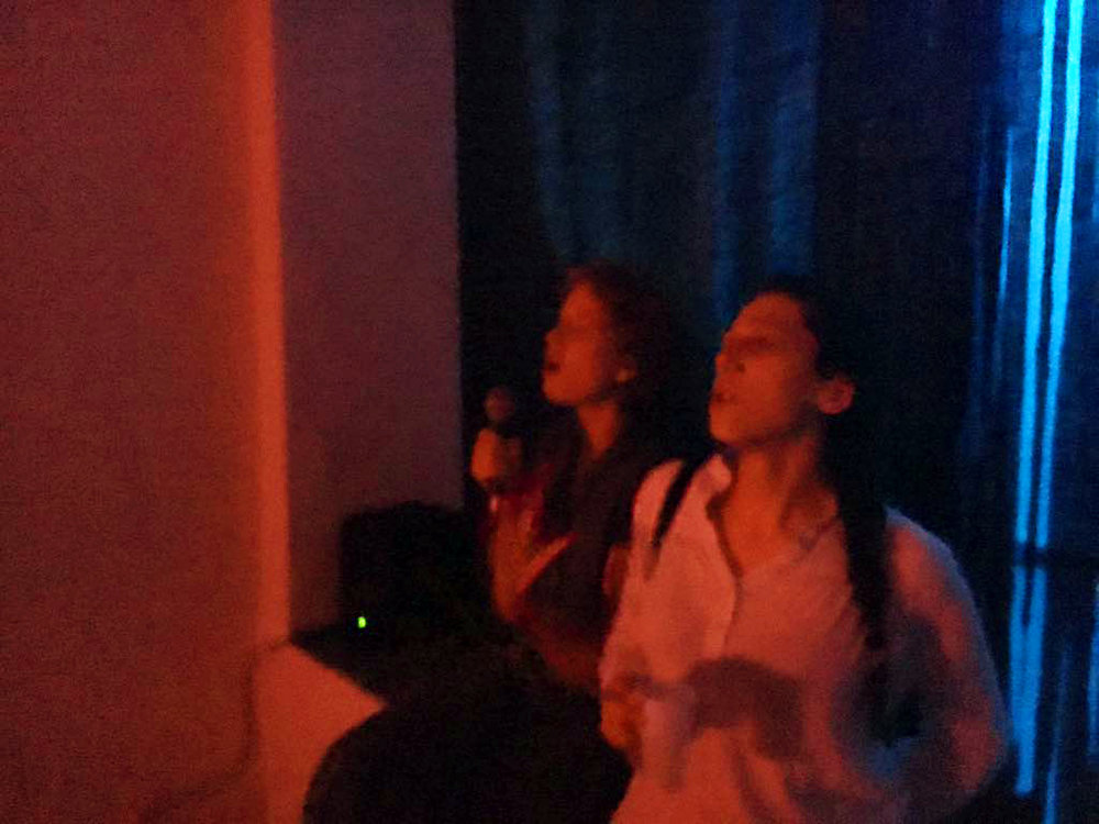 post-show karaoke