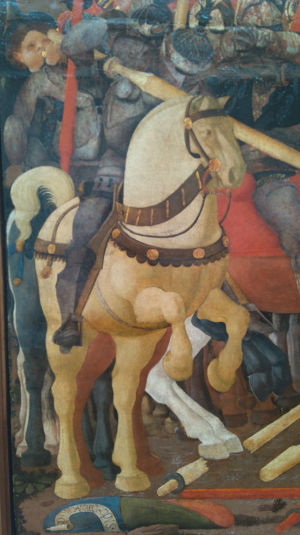 Uccello Horse Detail