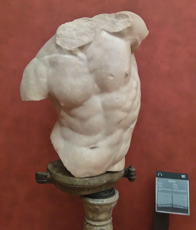 Ancient Torso, Uffizi