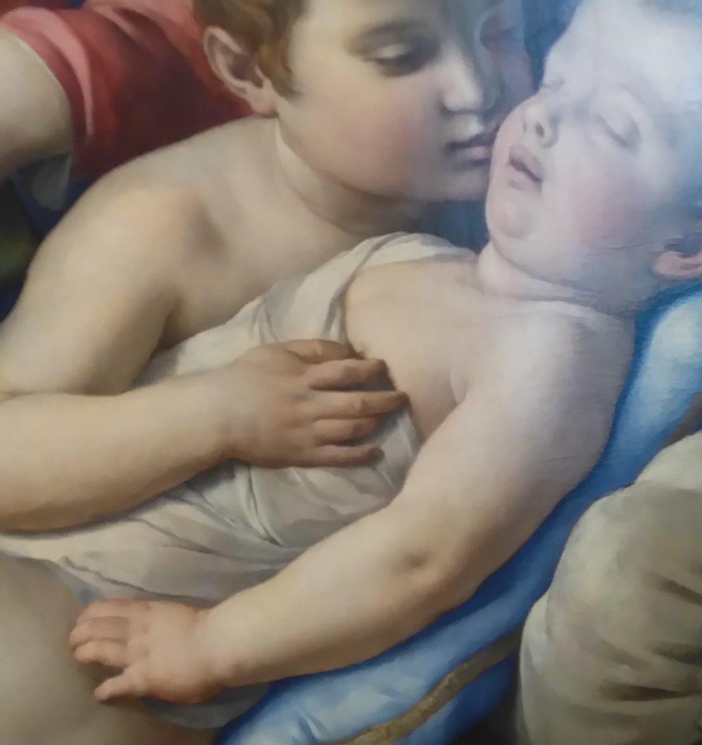 Bronzino Baby hands, Uffizi