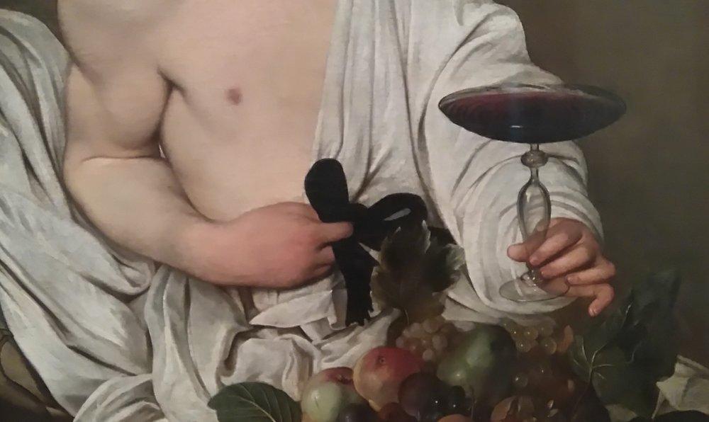 Carravagio Hands, Uffizi