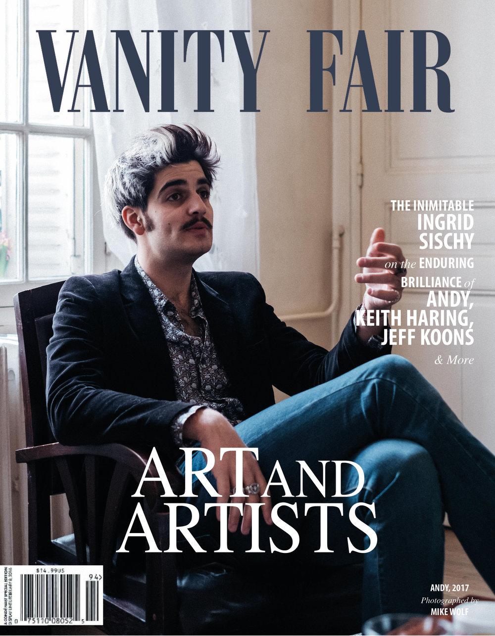 Andy Picci x Vanity Fair