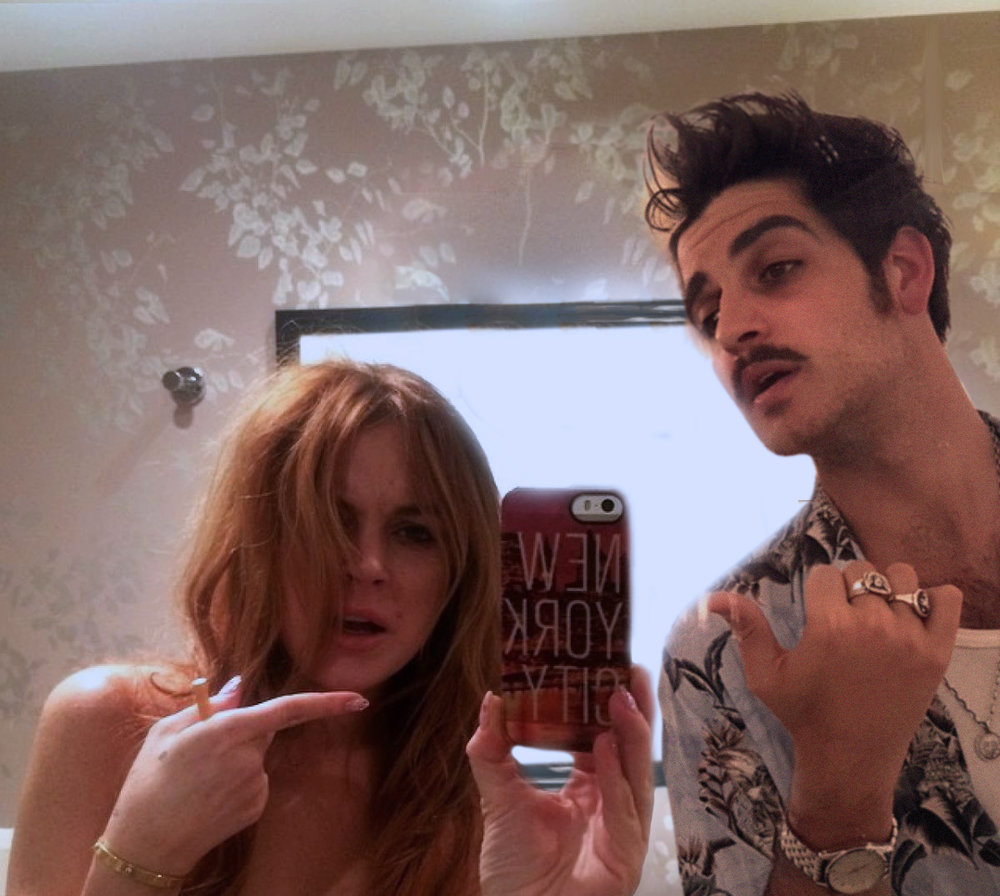 Andy Picci & Lindsay Lohan