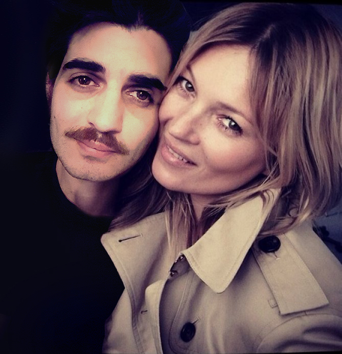 Andy Picci & Kate Moss