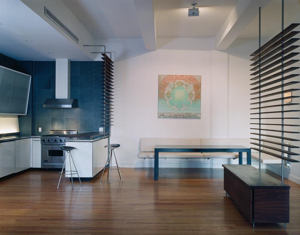 Atlas Industries Interior Design Services Tribeca Loft Living Sleeping  Powder Coated Steel Sliding Door Screens