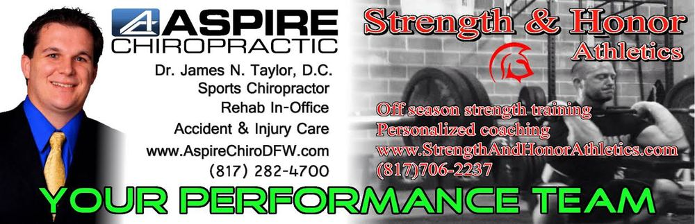 Dr. Taylor is the Best Sports Chiropractor in DFW!