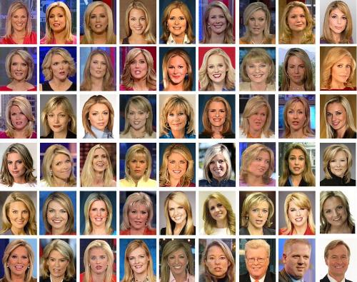 Fox New's actual, real diversity.