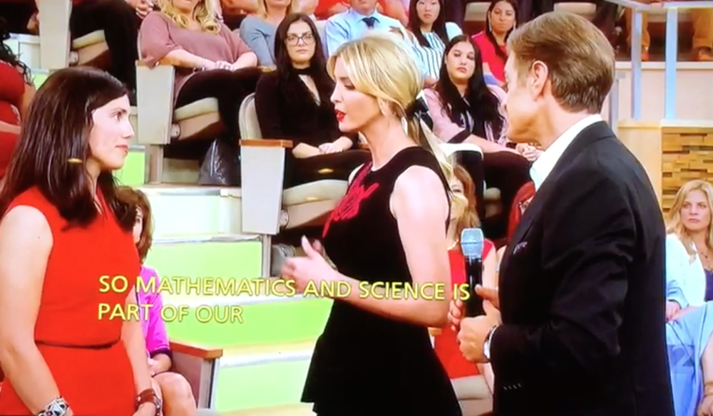 Ivanka Trump and Dyan discuss the importance of STEM and supporting our military families on Dr. Oz.