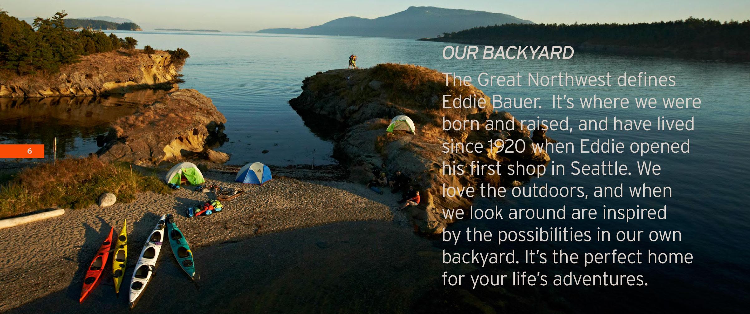 EDDIE BAUER — GINA DAVIS