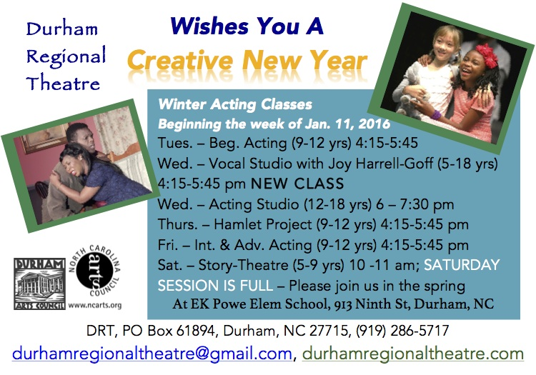 You can register online today - go to our  Education/Acting Classes  page and scroll down to the class(es) you want to take