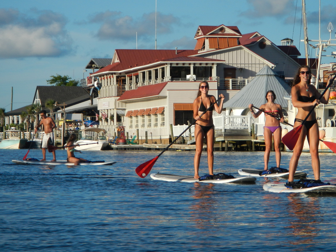 Paddleboarding Shem Creek Things To Do With Teens