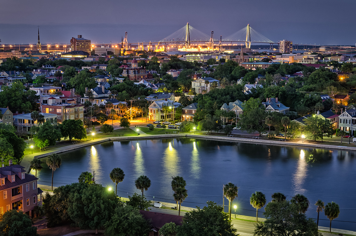 Welcome To Charleston History Mystery And Wonder South - Where is charleston