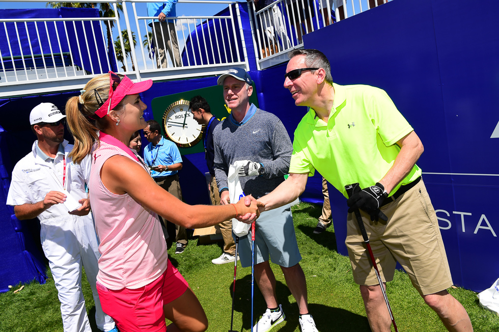 """No Lexi, the pleasure is all mine. Now let's get out there and win this thing!"""
