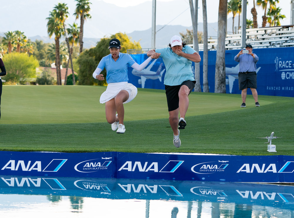 Lucy Li of San Francisco leads the ANA Junior Inspiration after two rounds.