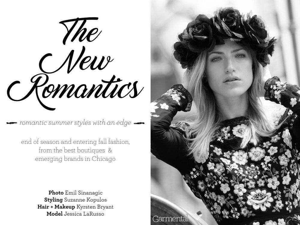 armental New Romantics Fashion Editorial and Shopping Slide 1
