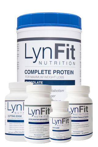 LynFit Lose 1 Pound Per Day System - Designed for extremely slow metabolisms to help break through weight loss plateaus. The Lose 1 Pound Per Day System contains all the essential weight loss tools needed to rev up the fat-burning process and facilitate rapid weight loss, control hunger, and elevate metabolism.