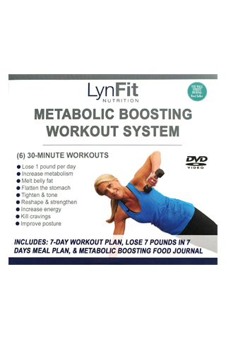 LynFit Metabolic Boosting Workout System DVD Set - LynFit's Metabolic Boosting Workout System is a complete system that's specifically designed to help you lose weight, melt off stubborn body fat, lose inches, firm and tighten loose skin, and reshape your entire body and posture into a leaner, more defined, less bulky look that will keep your body in pain-free working order.