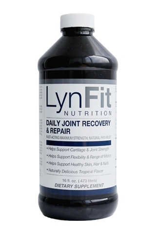 LynFit Daily Joint Recovery & Repair - LynFit Daily Joint Recovery & Repair helps alleviate joint pain or stiffness as a result of arthritis, osteoarthritis or wear and tear on the body caused by overuse or aging. Its unique; one-of-a-kind formula helps quickly reduce and block pain and inflammation by providing the essential nutrients needed to restore healthy joint function in the knees, wrists, hips, and shoulders.