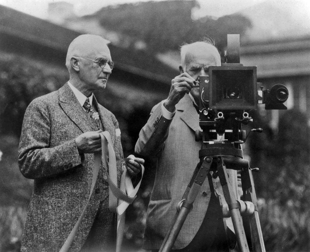 George Eastman et Thomas Edison