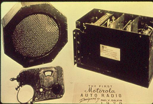 L'Auto Radio Motorola de 1929