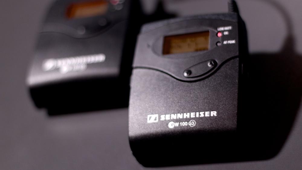 The Sennheiser G3 Wireless Microphone System