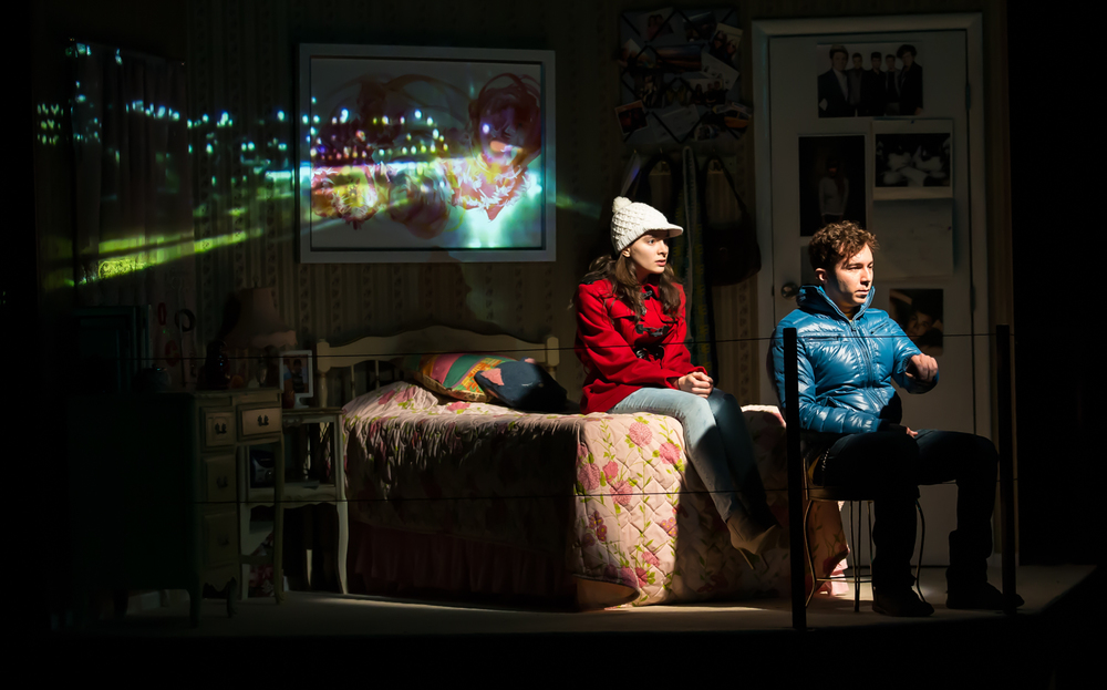 Russian Transport  by  Erika Sheffer   / Steppenwolf Theatre/Dir:  Yasen Peyankov  (Photo Stephan Mazurek)