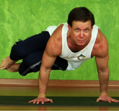 Parsva Kakasana (side crow pose) is sometimes referred to as Parsva Bakasana (side crane pose). This particular pose requires substantial hip flexibility, core strength and, of course, balances.