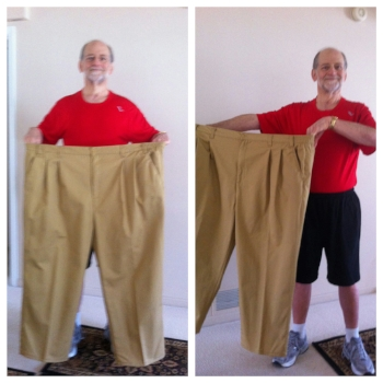 Bob S.lost 152 pounds in 17 months.  Bob was on 12 different medications when we started working with him and used a CPAP machine. With his dramatic weight loss he now takes only one medication. He also reversed several medical issues. He no longer has high blood pressure, type 2 diabetes or sleep apnea . Bob has maintained his goal weight for over six years!