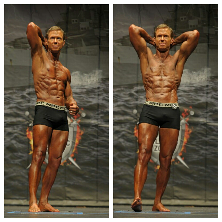 Shredded to the bone at the 2016 NPC Virginia Battle Royale at the Sandler Center in Virginia Beach, Virginia. I took 2nd place in the Classic Physique Master's Division (35+). My coach David Johnston's nutrition and training plans helped me deliver my best.