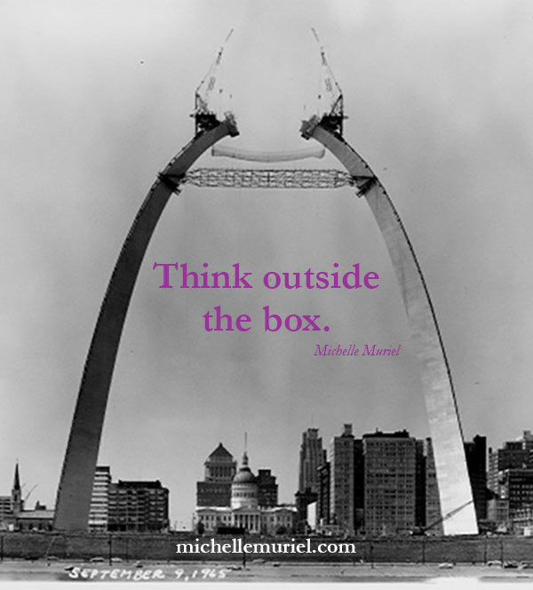 St. Louis Gateway Arch Michelle Muriel's BE LIST: Be Encouraged