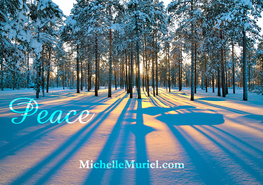 Peace 2017 Happy New Year Michelle Muriel author of Essie's Roses www.michellemuriel.com