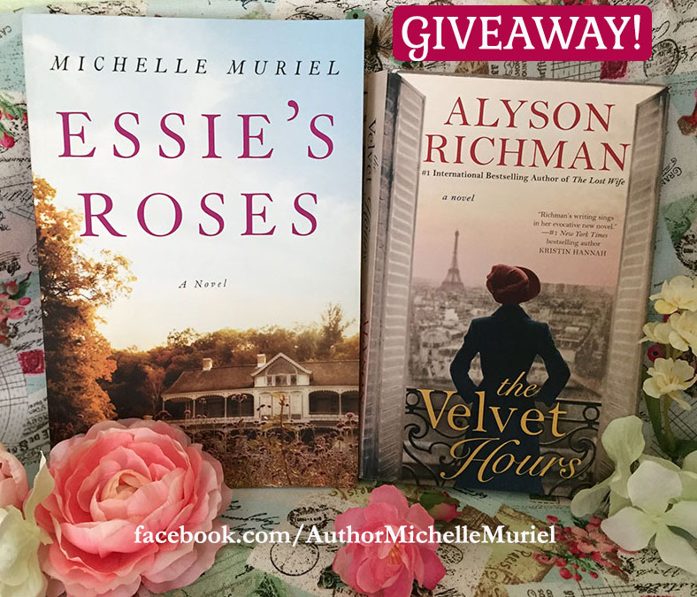 Visit author Michelle Muriel on Facebook to enter her May Giveaway for your chance to win a copy of these books www.MichelleMuriel.com