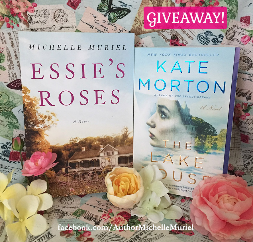 Book Giveaway Visit author Michelle Muriel on Facebook to enter for your chance to win a copy of her novel Essie's Roses & more.