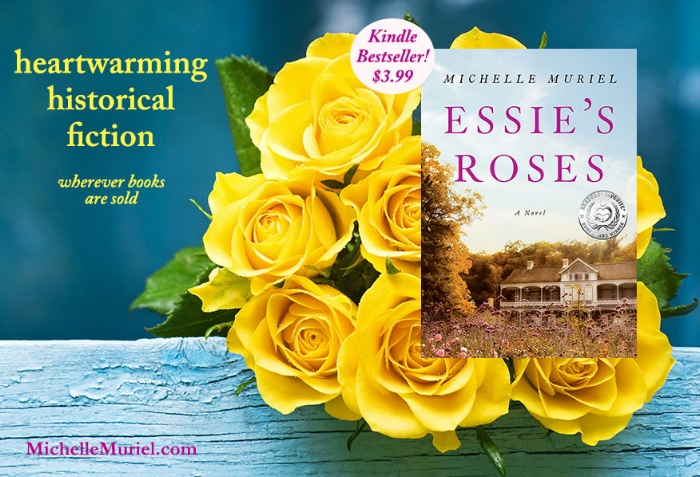 No 1 Amazon Kindle bestseller Essie's Roses is a sweeping, moving historical novel by bestselling author Michelle Muriel, about freedom, secrets, and the power of love www.MichelleMuriel.com